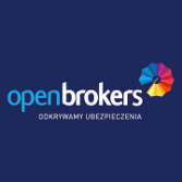 Open Brokers - logo negatyw